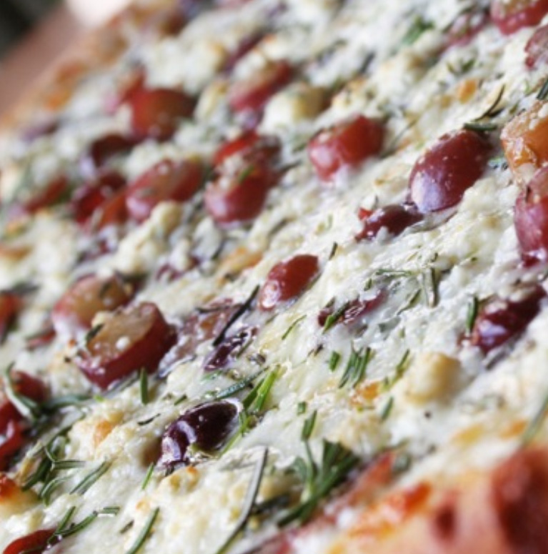 Pies & Pints' Grape Pizza